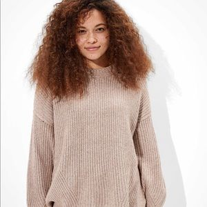 American Eagle Oatmeal Oversized Sweater Size Med